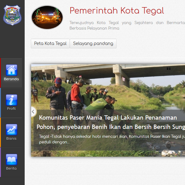 Website Kota Tegal